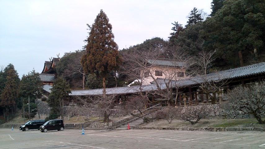 吉備津神社 回廊 398mとのこと.jpg