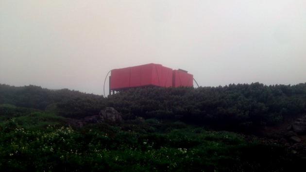 乗鞍岳 肩の小屋付近の貯水槽.jpg